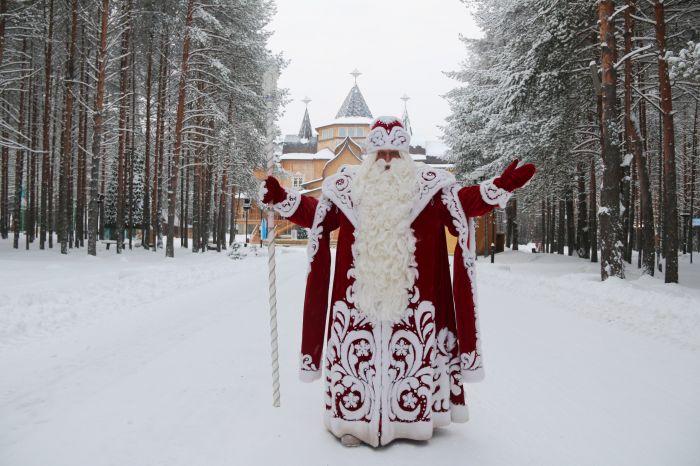 Вятские Поляны посетил главный Дед Мороз страны