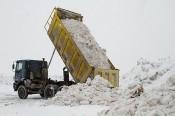 Вывоз снега с 17 на 18 января