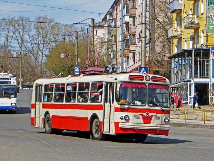 Троллейбус Победы прокатит кировчан бесплатно