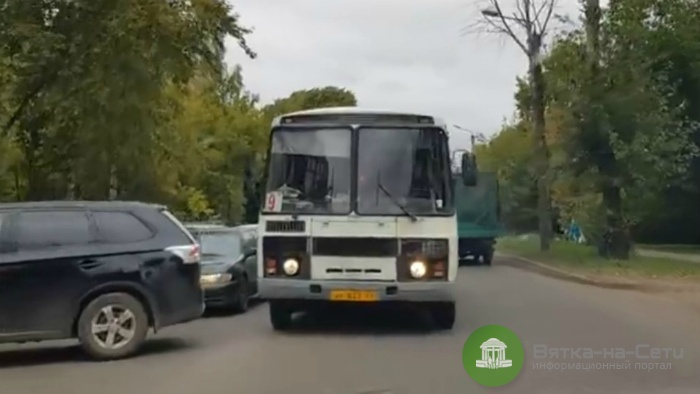 Водителя автобуса, проехавшего по «встречке», накажут