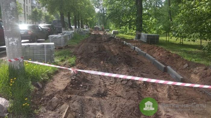 В Кирове сдано в эксплуатацию 13 отремонтированных тротуаров
