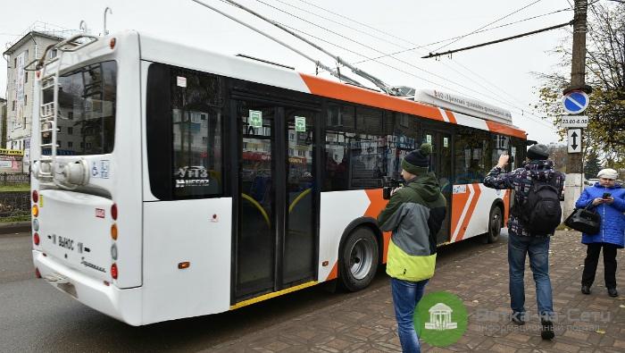 Новый троллейбус запустят по маршруту № 8