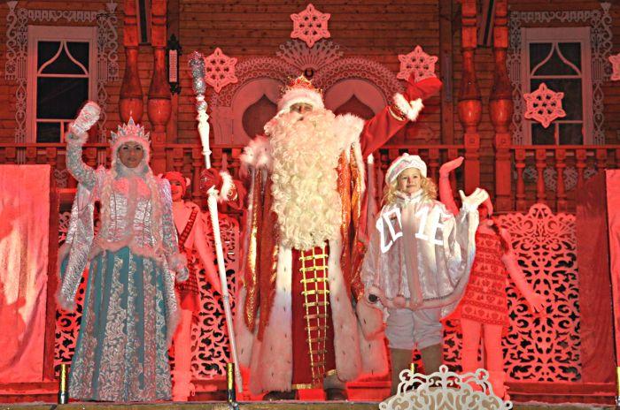 Главный Дед Мороз страны откроет ёлку в Вятских Полянах