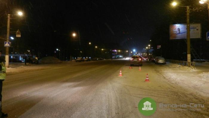 Вчера в Кирове иномарка сбила пенсионерку