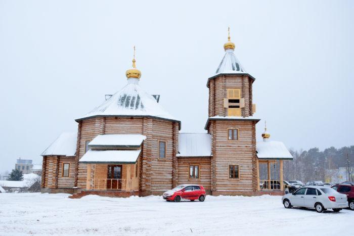 В Уржумском районе построен единственный в России храм в честь преподобного Лазаря Галисийского