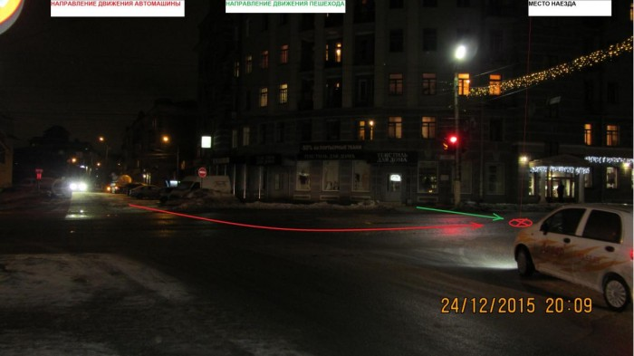 На ул. Ленина сбили 16-летнего подростка
