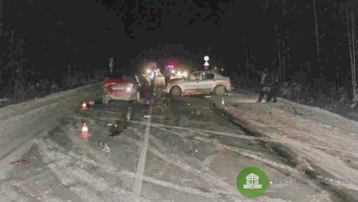 В ДТП в Куменском районе пострадали четыре человека