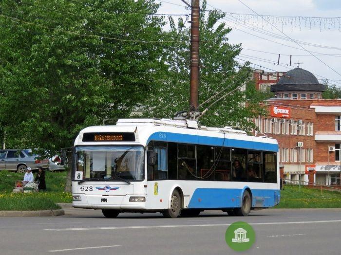 Новые троллейбусы поставят на маршрут №8