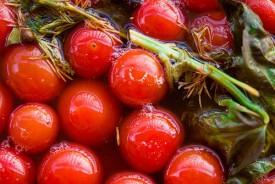 Солёные помидоры черри
