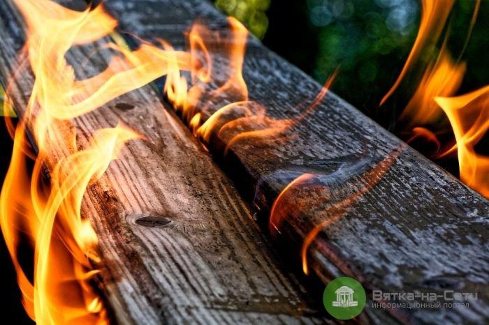 В Оричевском районе в пожаре погиб мужчина