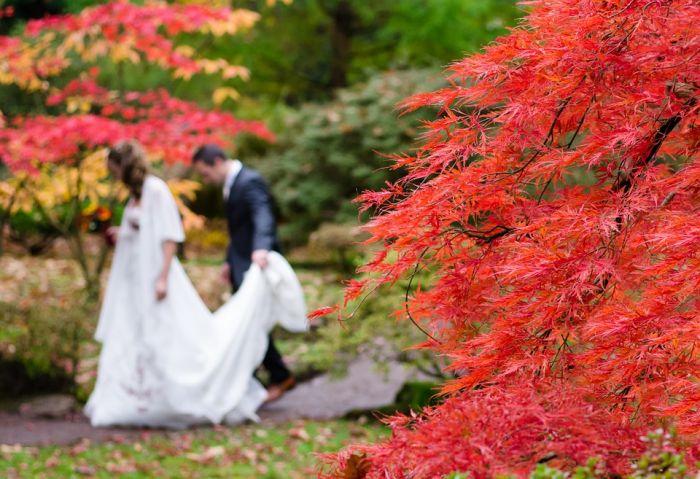 Осенняя свадьба: атрибуты и особенности