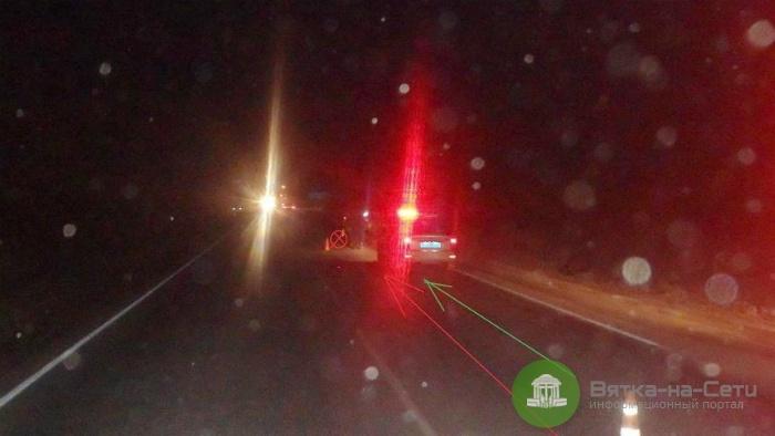 В Кирово-Чепецком районе пешеход погиб под колесами авто
