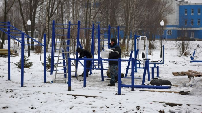 В Кочуровском парке откроется инклюзивная спортплощадка