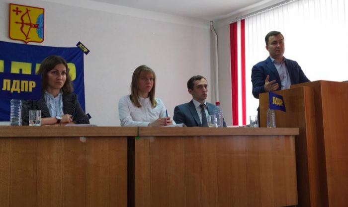 ЛДПР выдвинула Кирилла Черкасова на губернаторские выборы