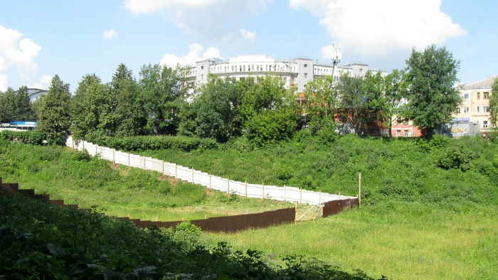 В овраге Засора планируют построить спортивно-образовательный комплекс