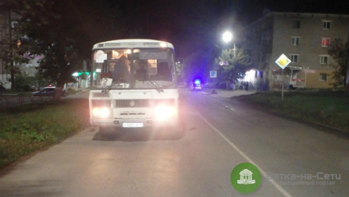 Чепчанку на пешеходном переходе сбил автобус
