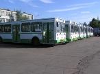 В Кирове арестовали 3 автобуса
