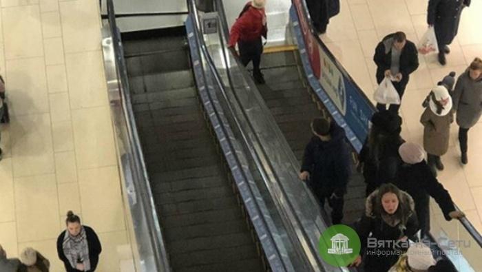 В «Джем Молле» из-за обвала эскалатора едва не пострадал ребенок