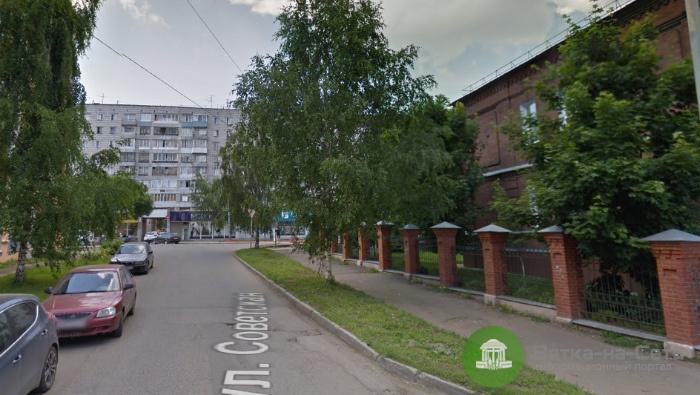 Временно прекращено движение транспорта на участке улицы Советской