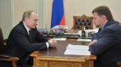 Никита Белых отчитался перед Путиным о ситуации в Кировской области