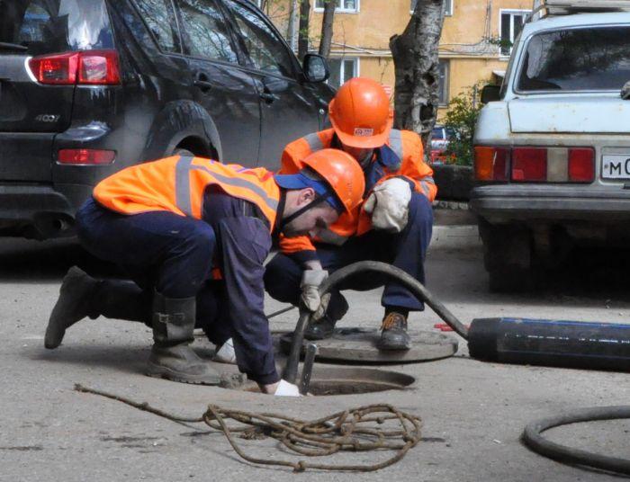 ККС ремонтируют канализацию по новой технологии