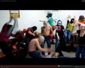 В Кировской области сняли свой клип на популярный танец Harlem Shake