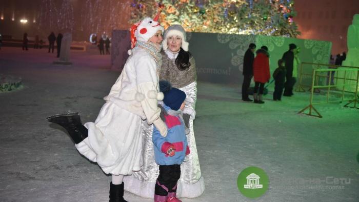 С 5 по 8 января на Театральной площади пройдут детские игровые программы