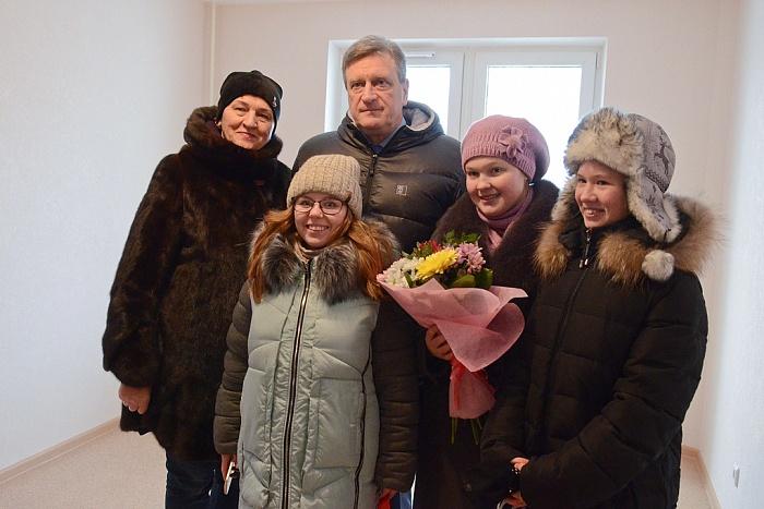 В Кировской области для детей-сирот построено ещё 117 благоустроенных квартир