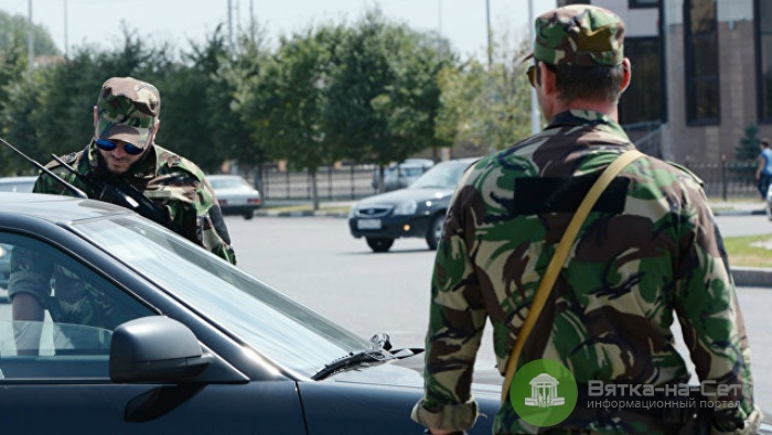 При нападении боевиков в Чечне был ранен полицейский из Кирово-Чепецка