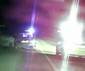 Чтобы остановить угонщика машины, полицейские прострелили все 4 колеса