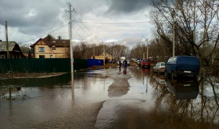 Вода в Вятке поднялась на 5,5 метров