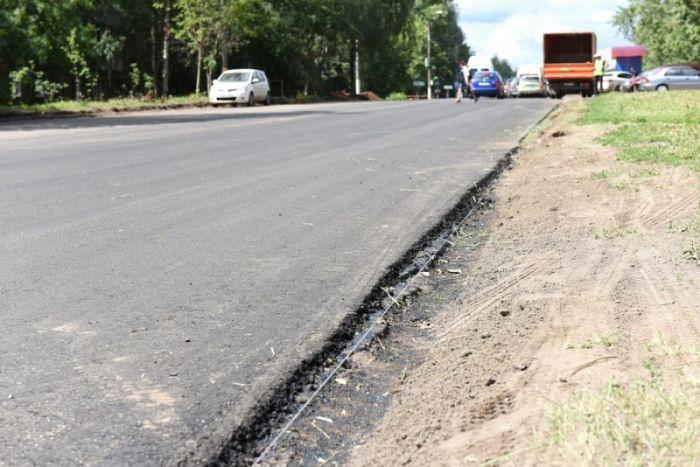 В Кирове продолжается ремонт на 8 улицах