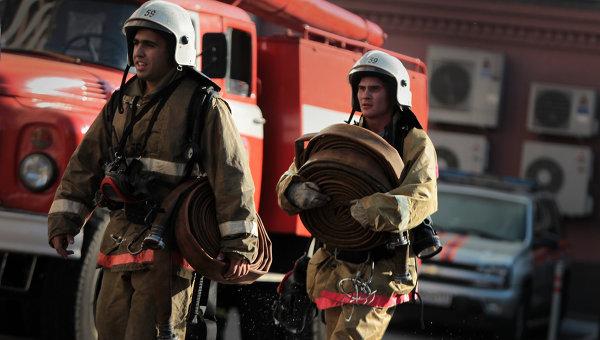 ВКирове находу зажегся автобус 46 машрута