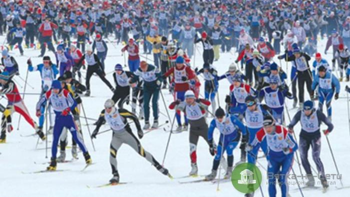 В Кирове пройдут соревнования «Лыжня России»