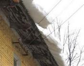 Снежная глыба придавила юного кировчанина