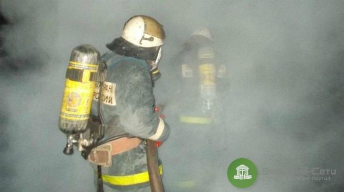В Кирове при пожаре на автомойке пострадал мужчина