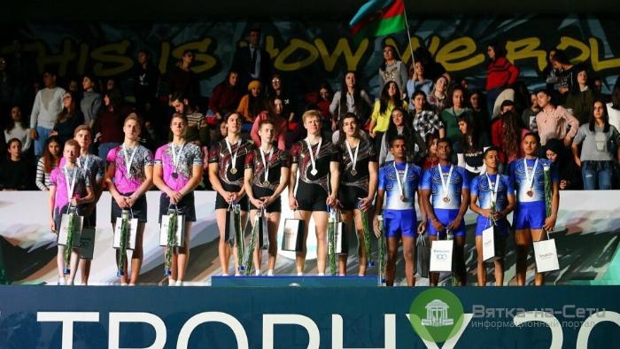 Кировские акробаты взяли золото Кубка мира