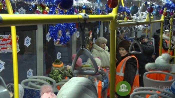 В новогоднюю ночь в Кирове будут работать 6 маршрутов общественного транспорта