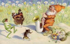 Саксофон-старичок и веселый Светлячок
