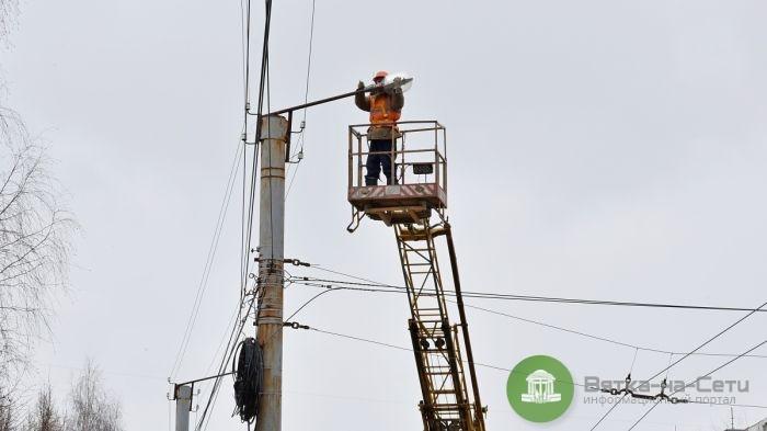 В Кирове до конца января заменят ещё 2 тысячи светильников