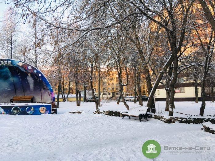 На неделе в Кирове ожидается потепление