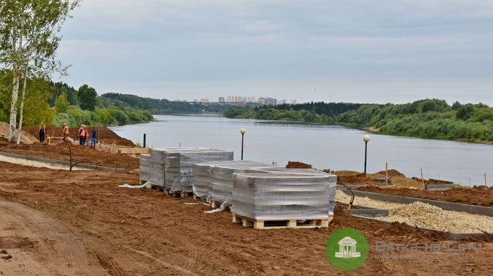Набережная в Нововятске будет адаптирована для маломобильных граждан
