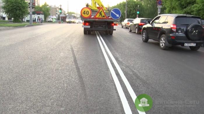 Управление дорожной и парковой инфраструктуры: «сплошная» разметка снизит аварийность на дорогах
