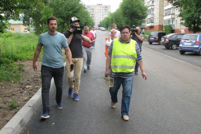 Улицы Екатерины Кочкиной и Малая Производственная приняты после ремонта