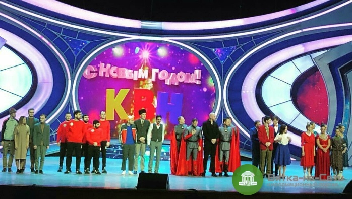 Появилось видео победы команды КВН «Вятка» в финале Высшей Лиги