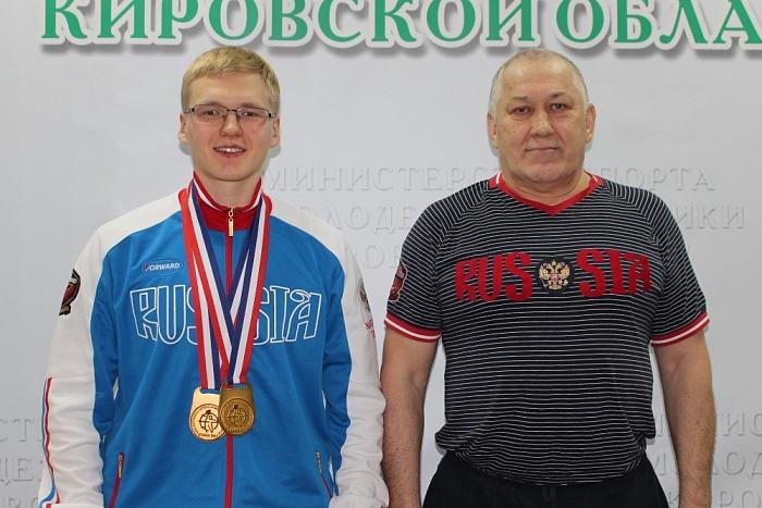 Кировчанин Артём Клепиков впервые стал чемпионом мира по гиревому спорту