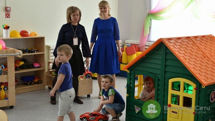 В Кирове открылся третий за месяц новый детский сад