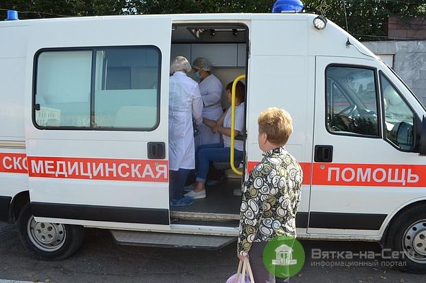 Кировчане смогут сделать прививку от гриппа в санитарных автомобилях