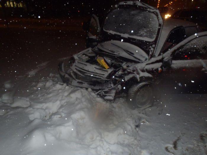 Трезвый шофёр на БМВ протаранил «Ладу» с нетрезвым водителем