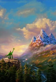 Хороший динозавр 3D